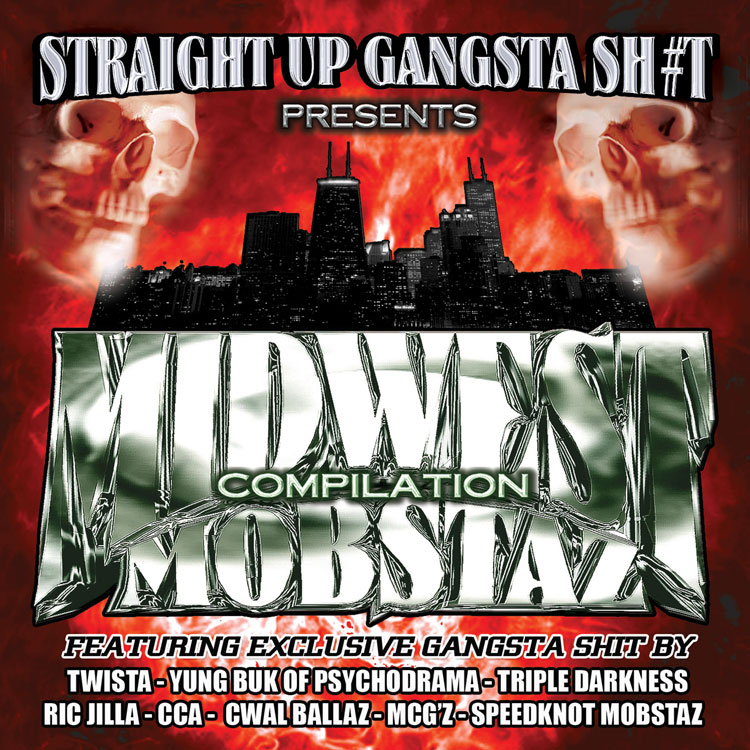 Straight Up Gangsta Sh#t – Midwest Mobstaz Vol. 1