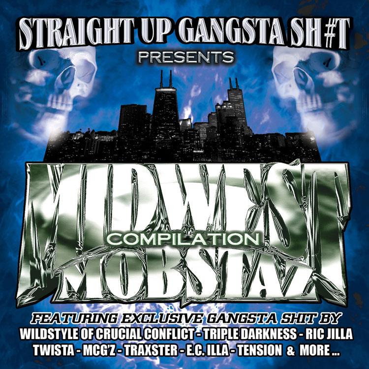 Straight Up Gangsta Sh#t – Midwest Mobstaz Vol. 2